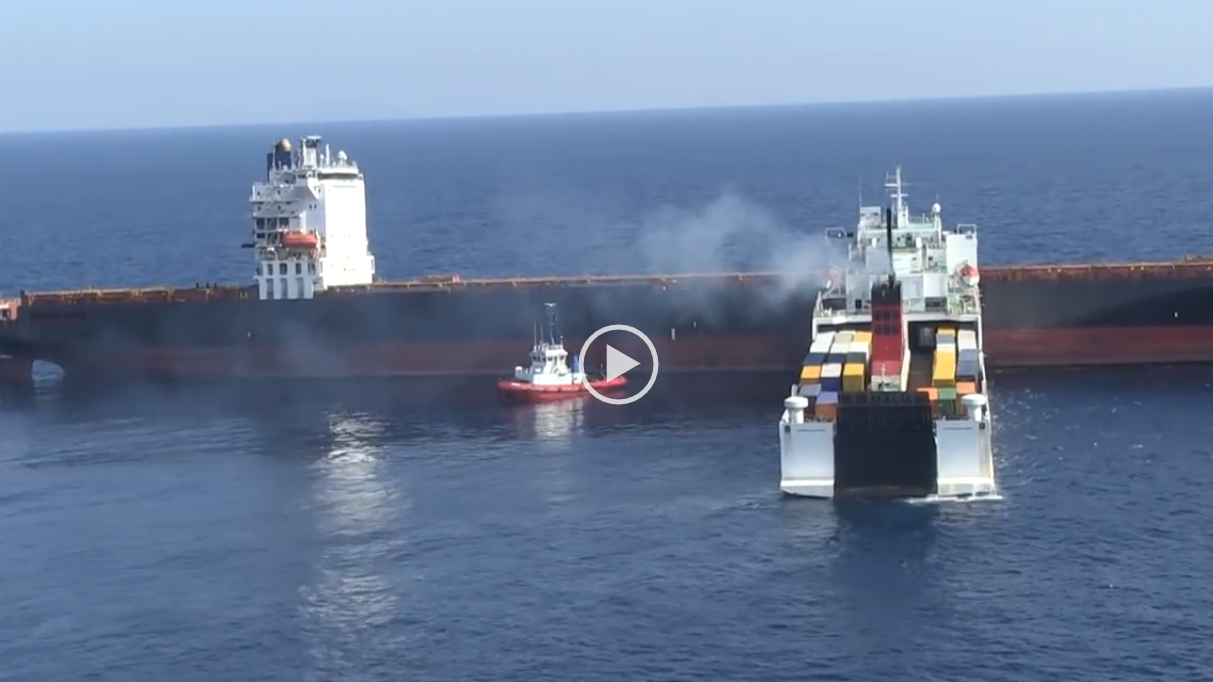container-ship-and-ferry-hit